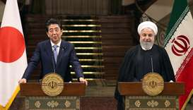Japan's Abe urges Iran to play 'constructive role'
