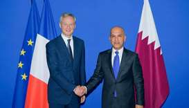 Al-Emadi meets French counterpart