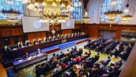 A view of the ICJ.