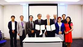 Qeeri, Japanese institute sign pact for research collaboration