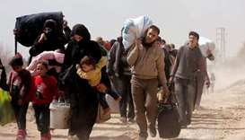 migrants fleeing Syria