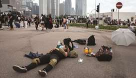HK's future economic role at risk amid demonstrations