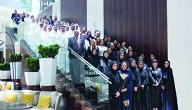 Qatar Airways hosts interns in summer training initiative