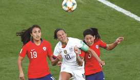 Record-breaking Lloyd propels USA into World Cup last 16