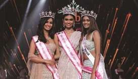 Suman Rao (centre), Shivani Jadhav (left) and Shreya Shanker