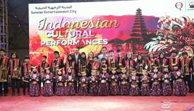 Indonesian children showcase cultural performances at SEC