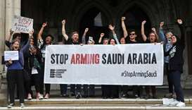 Britain broke law in allowing arms exports to Saudis -court