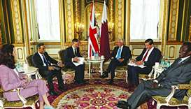 Qatar, UK strategic dialogue