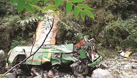 Bus crash, Himachal Pradesh