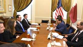 Attorney-General meets US Treasury Secretary