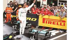 Hamilton wins at Paul Ricard in Mercedes one-two