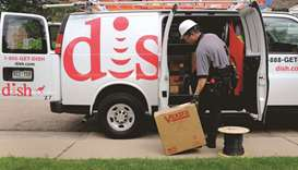 A Dish Network technician