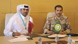 Commander of Medical Services at the Qatar Armed Forces Major General (Sea) Nasser Mohamed al-Kaabi