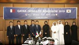 MoTC assistant undersecretary of Digital Society Development Reem al-Mansoori joins the South Korean