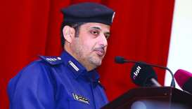 Colonel Mohammad Radhi al-Hajri, Director of Traffic Awareness Department