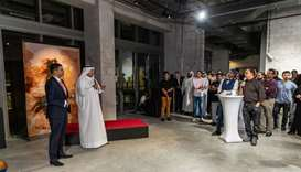 From the 'Qatar Al Fann' launch event