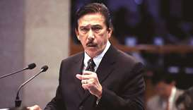 Senate President Vicente Sotto 3rd.