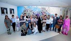 Envoys' spouses learn Qatar 2022 preparations from SC pavilion