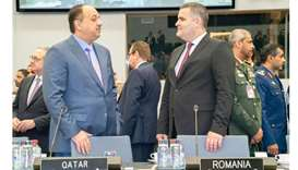 Qatar attends Nato meeting