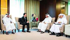 FM meets UNRWA commissioner-general