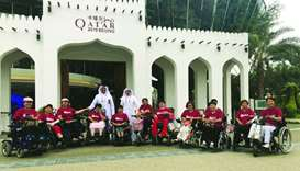 Qatar's pavilion at Beijing exhibition welcomes delegation