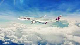 A Qatar Airways A350-1000