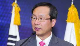 South Korean ambassador Kim Chang-mo.