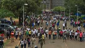 Thousands protest price hikes, corruption in Liberia
