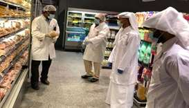 Food inspections in Al Shamal Municipality