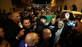 Hundreds attend funeral of Palestinian