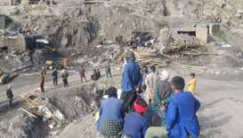 Blast at Afghan coal mine kills 7