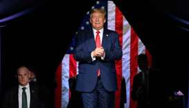 Trump shifts date of Oklahoma rally to 'respect' emancipation holiday