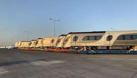 Qatar Rail receives first batch of additional Doha Metro trains