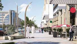 Doha central development and beautification projects start