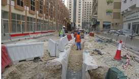 Ashghal completes 20% of first package of Doha Central Development and Beautification Projects