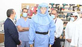 QSC makes protective suit for healthcare workers
