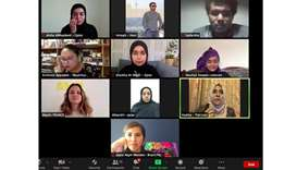 WEBINAR: Inspiring female youth climate activists and environment advocates joined the webinar from