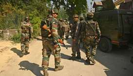 Indian forces kill 3 militants in Kashmir's main city