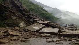21 dead in rain-triggered landslides in India's Assam state