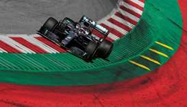 Formula One unveils 8-race schedule in Europe from July 5
