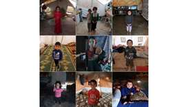 Nine years of war. Nine portraits of kids who dream of home