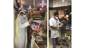 Nearly 1,500 inspection tours of food outlets