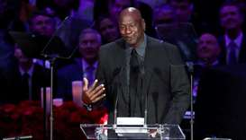 File photo of NBA legend Michael Jordan. (Reuters)