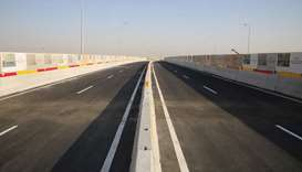 Ashghal partially opens new bridge along Sabah Al Ahmad Corridor at Bu Hamour