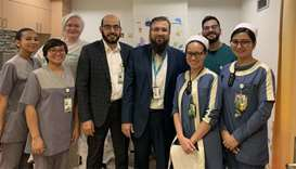 Sidra Medicine Infant Hip Clinic team