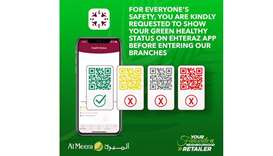 Show Green status on Ehteraz to enter: retail chains