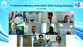 Opec-GECF energy dialogue focuses on impact of Covid-19 on global economy, oil and gas markets