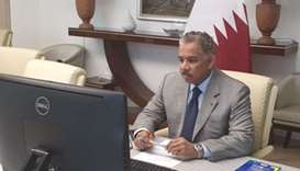 HE the Head of Mission of Qatar to the European Union, Ambassador Abdulrahman bin Mohammed Al Khulai