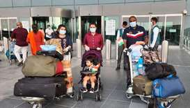 Over 8,000 repatriated to India until Friday