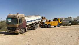 Civic drives target abandoned vehicles in Umm Slal, Al Sheehaniya municipalities